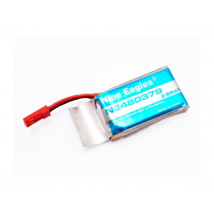 Accu Lipo 1S 700 mAh 25C pour drone Galaxy Visitor 6 de Nine Eagles