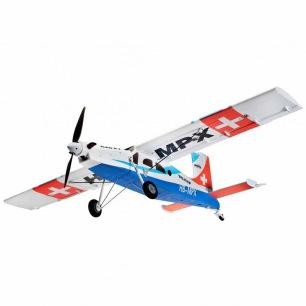 Avion PILATUS PC6 - RR de Multiplex
