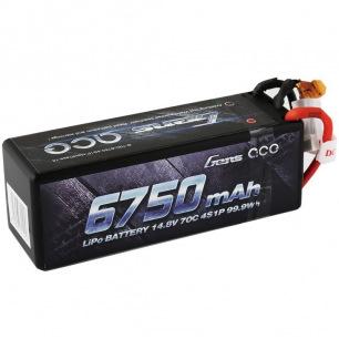 Accu LiPo Gens Ace 4S 6750 mAh 70C pour voiture RC