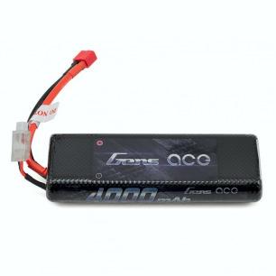 Accu LiPo Gens Ace 2S 4000mAh 25C pour la voiture RC