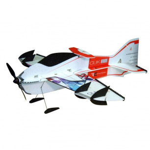 Avion indoor CLIK R2 de RC Factory - Env: 84cm - LiPo 2S - Rouge/Bleu