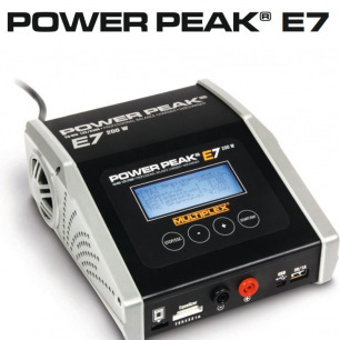 Chargeur POWER PEAK E7 EQ-BID 12V/230V de Multiplex