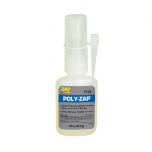 Colle Cyanoacrylate Poly-ZAP - Flacon de 14g