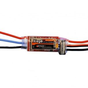 Variateur de vitesse Xreg6 de XPower - LiPo 2 - 3S - 6A