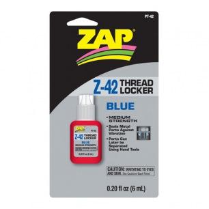 Frein-filet moyen Z42 Bleu de ZAP - Flacon de 6ml