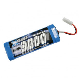 Pack d'accus NiMH 7.2V 3000mAh - Xcell