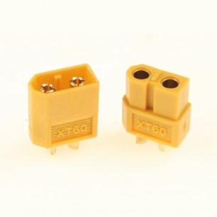 Connecteurs dorés XT-60 3.5mm - Mâles ou Femelles