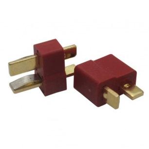 Connecteurs dorés DEANS - Mâle et Femelle