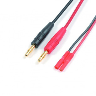 Cordon de Charge avec Connecteur OR 2mm et cache plastique