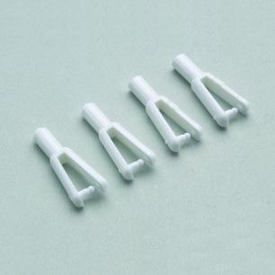 Chapes Plastique pour tube Carbone