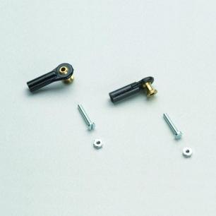 Chapes à rotules filetées M2.5 - Courtes, moyennes ou longues