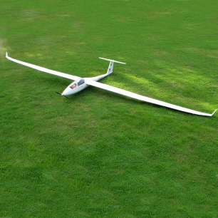 Planeur Duo Discuss XL FlyFly Hobby - ARF avec moteur Brushless - Env. 4.0m
