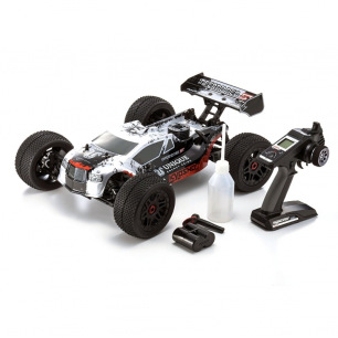 Voiture Truggy INFERNO NEO ST RACE 2.0 READYSET T1 SILVER