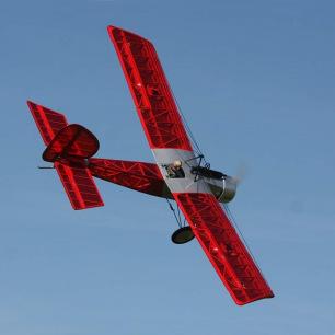Avion BARON Jaune - Env. 1,56 m - ARF de Ecotop