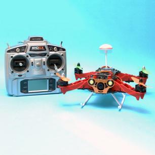 Drone Quad HUNTER 250 FPV - RTF de MHDPro