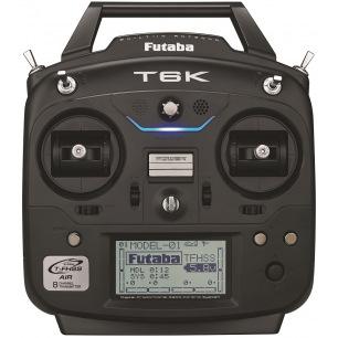 Radio FUTABA 6K 2.4GHz T-FHSS avec récepteur R3006SB