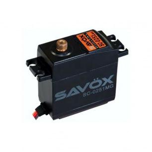 Servo Savox SC-0251 MG - Digital - Pignons Métal