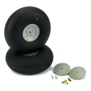 Roues gonflables DUBRO de 102 à 152mm