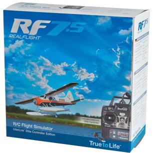 Simulateur de vol RealFlight 7.5 de GreatPlane avec radio câblée
