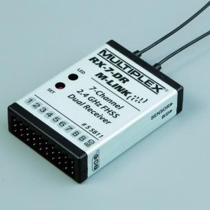 Récepteur Multiplex RX-7-DR M-Link 2.4Ghz - 7 voies