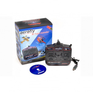 Simulateur de vol Aerofly RC7 light IKARUS avec radiocommande