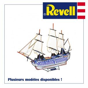 Maquettes plastiques de bateaux Revell