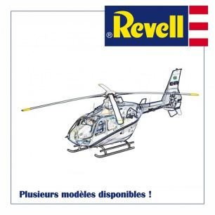 Maquettes plastiques d'hélicoptères Revell