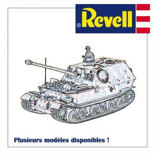 Maquettes plastiques de Chars à assembler - Revell