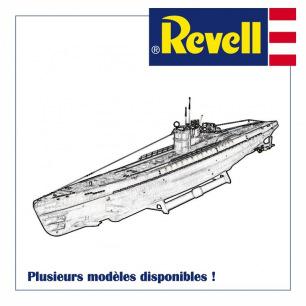 Maquettes plastiques de Sous marins à assembler - Revell