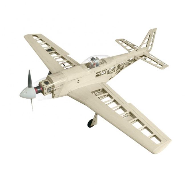 Avion Mustang P-51D kit à construire de SF Model - Env. 1.43m