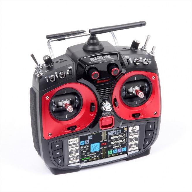 Radio GRAUPNER MZ-24 Pro HoTT avec récepteur GR-18 3xG + 3A