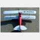 Avion Tiger Moth en bois tout à construire - Env. 1.4m