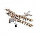Avion Tiger Moth kit en bois tout à construire - 140cm