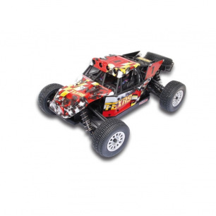 Voiture TEXAS BUGGY EP RTR 1/18 - carrosserie rouge - MHDPRO