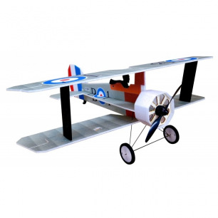Avion indoor Crack Camel de RC Factory - Env: 87cm - Bleu ou Silver
