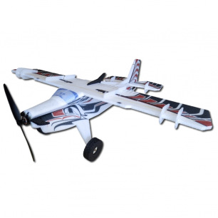 Avion Crack Turbo Beaver de RC Factory - Env: 88cm - Rouge