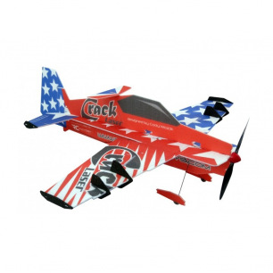 "Avion indoor Crack Laser Pro ""Patriot"" de RC Factory - Env: 805mm"