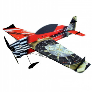 "Avion Indoor Extra 330 ""Superlite"" de RC Factory - Env: 840 mm - Rouge"