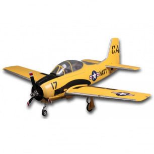 Avion Trojan T-28 (V4) Yellow - PNP- 1400mm - FMS