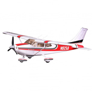 Avion Cessna 182 AT Rouge kit PNP - FMS - 1400mm