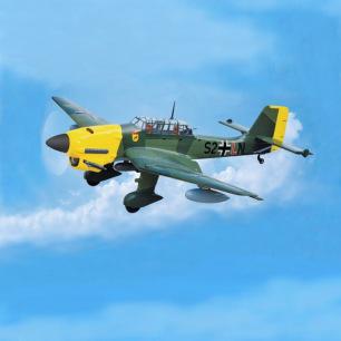 Avion Junker JU 87B Stuka 120 ARF de Black Horse