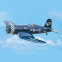 Avion Corsair 61-91 ARF de Black Horse - Env: 176 cm