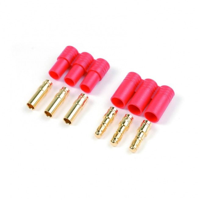Connecteurs OR avec cache plastique - 3 pins
