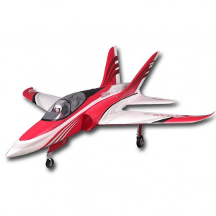 Jet Super Scorpion Red PNP 90mm EDF de FMS - Env: 115 cm