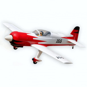 Avion RADIAL ROCKET de Black Horse - Env 1.41 m - 7.5 à 9cc ou LiPo 5S