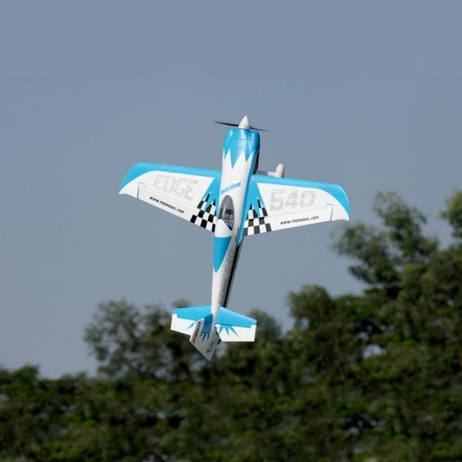 Avion Edge 540 bleu kit PNP - Env. 1320mm - FMS