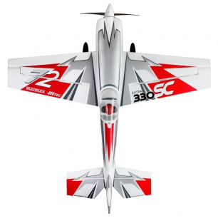 Avion EXTRA 330 SC Silver/Red - RR - env 1200mm - de Multiplex