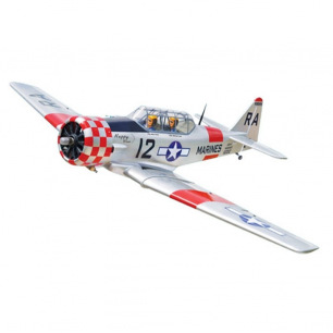 Avion AT6 TEXAN Black Horse - Env 183 cm - 2T 10cc ou 4T 15cc