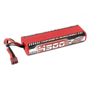 Accu LiPo 2S 4500mAh 50C Sport Racing Team Corally