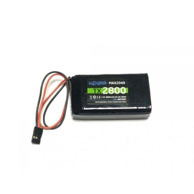 Batterie MAXPRO LiPo 7.4V 2800mAh pour radiocoammande